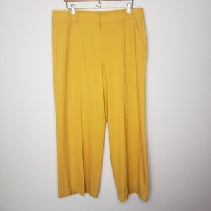 Lane Bryant Yellow Dress Pants